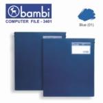 COMP FILE BAMBI 3401 9.5X11 BIRU