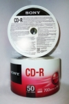 CDR SONY 50PCS