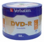 DVD-R VERBATIM 50PCS