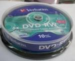 DVD-RW VERBATIM 10PCS