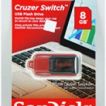 FLASH DISC SANDISK 8GB CRUZER SWITCH CZ52