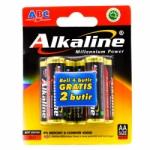 ABC ALKALINE AA (4+2) PCS