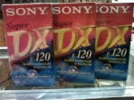 SONY VHS E-120 VIDEO KASET